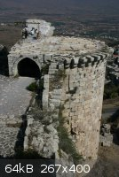 Krak des Chevaliers Turm Sultan Baibars.jpg - 64kB
